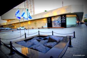 Yitzhak Rabin's memorial site - Kikar Rabin