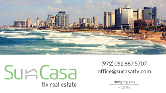 Founded in 2008, Su Casa Tel Aviv Real Estate is an independent, full serviced real estate brokerage with a focus on the Central Tel Aviv market offering highly efficient personal service with outstanding value.
