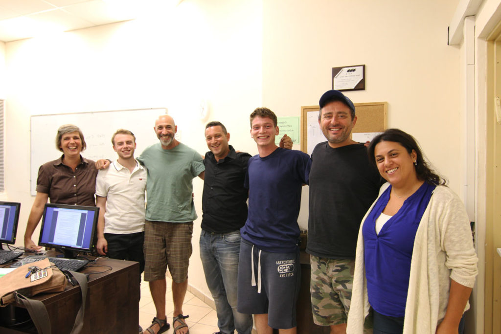 Students from our June 2nd, 2016 in-class Israeli real estate license exam English course held at Kefar Saba. Photo by Su Casa TLV Academy. All Rights Reserved.