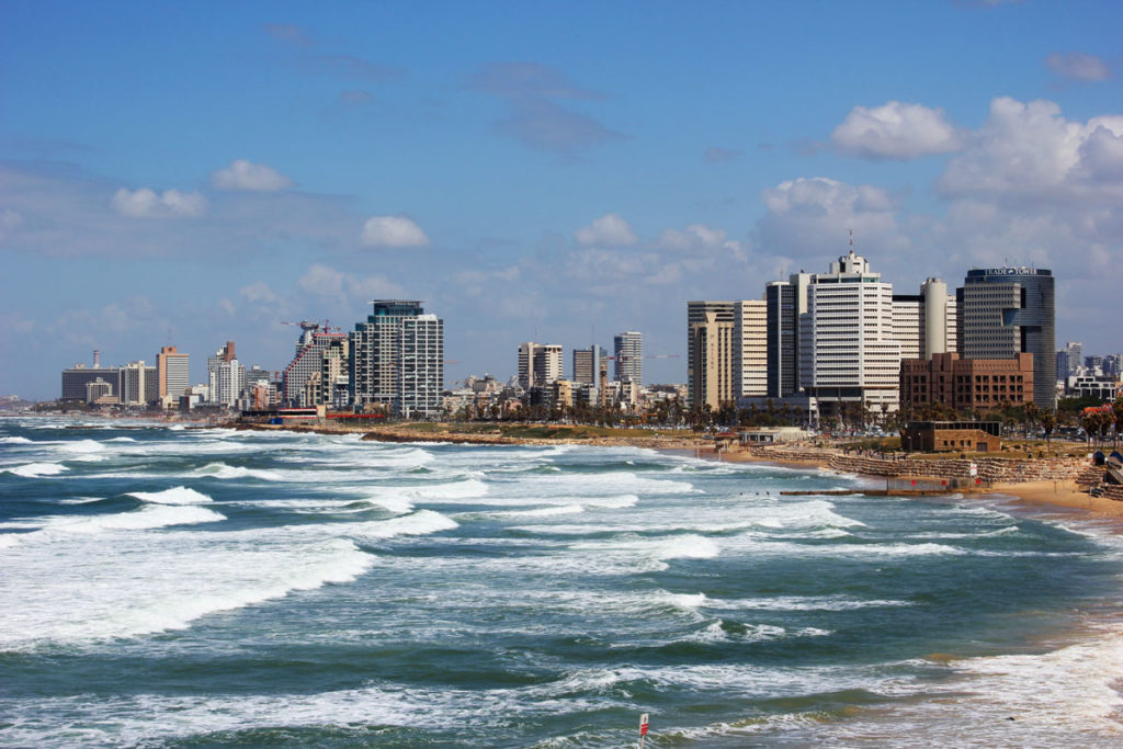 Tel Aviv City as seen from Old Jaffa, Israel. All rights reserved to Su Casa Tel Aviv Real Estate